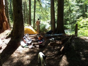 A weekend packing trip into Cedar Flats in the Cascade Range.